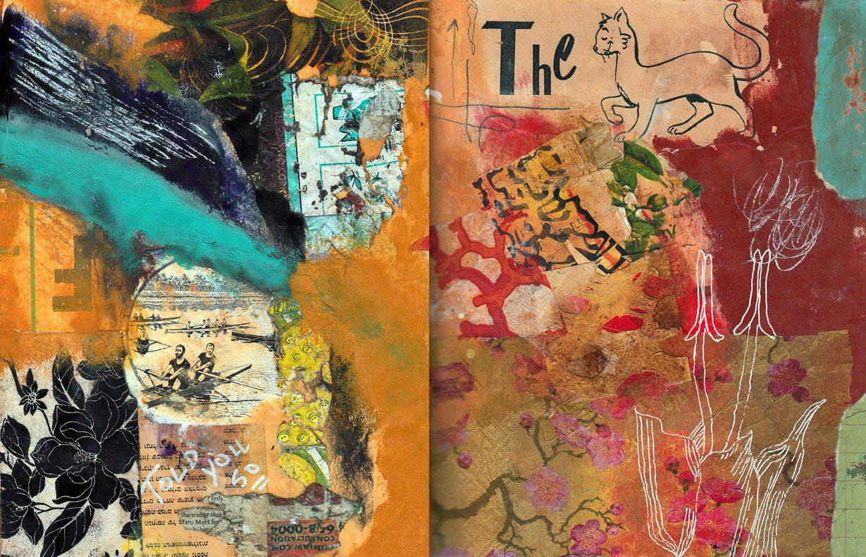 Spread 128 - My Journal-My Garden - 72